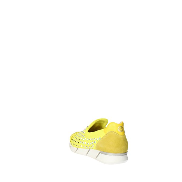 <Florens Shoes Sneakers Yellow F1330