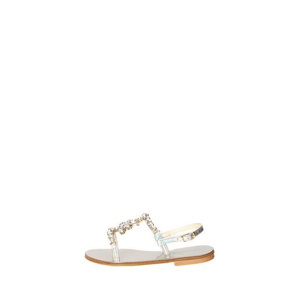 Sandalia Shoes Sandals Silver SB12 10 ARGARG