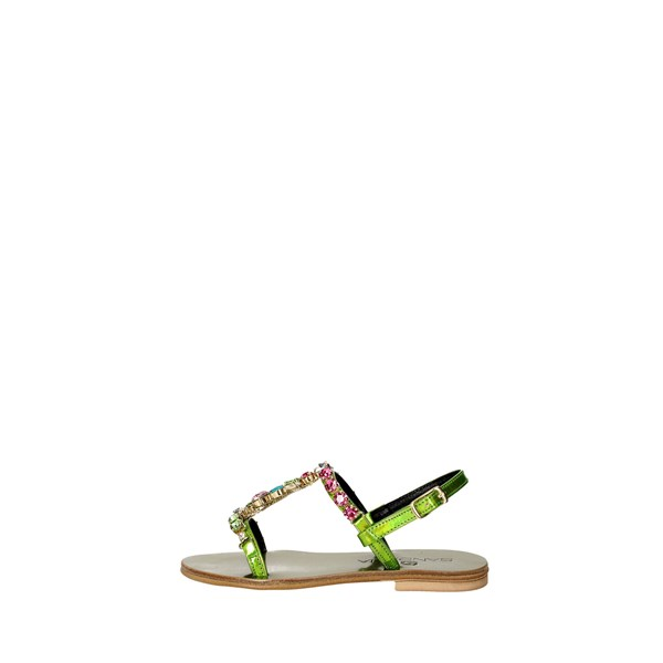 Sandalia Shoes Sandals Green SB12