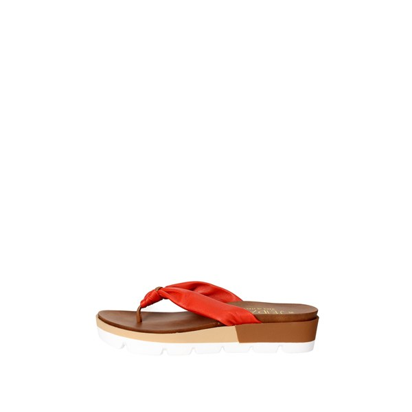 Jeiday Shoes Flops Coral FLAVIA G
