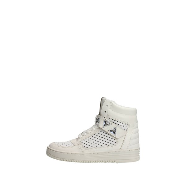 Cult Shoes High Sneakers White CLE102122