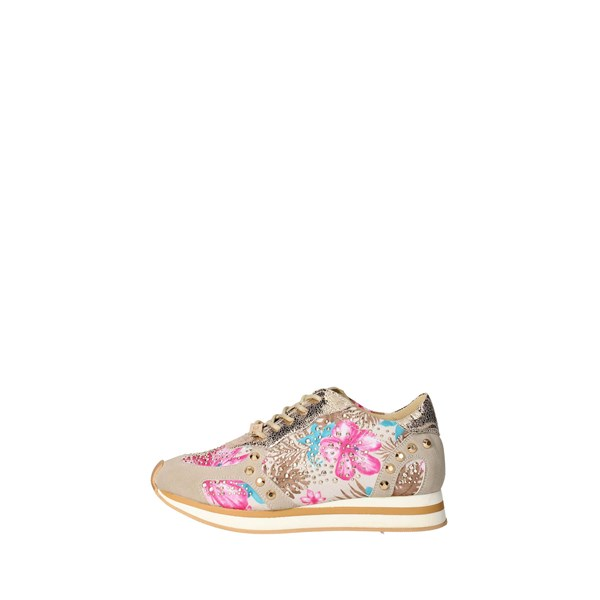 Datch Shoes Sneakers Beige/gold D207