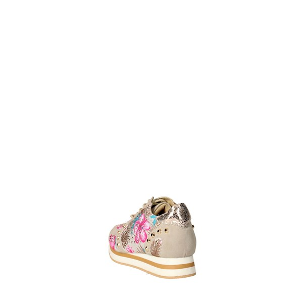 <Datch Shoes Sneakers Beige/gold D207