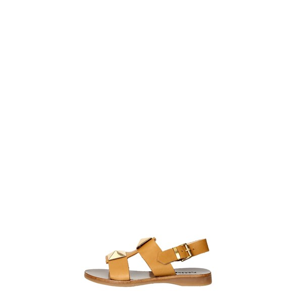 Florens Shoes Sandals Brown leather F7636