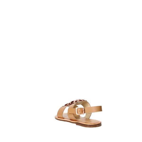 <Florens Shoes Sandals Brown leather F9832