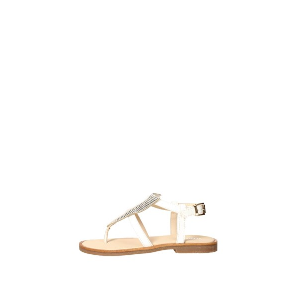 Florens Shoes Flops White Z5775
