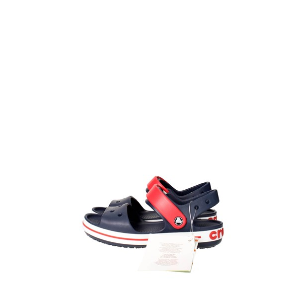 Crocs Shoes Sandal Blue/Red 12856-485