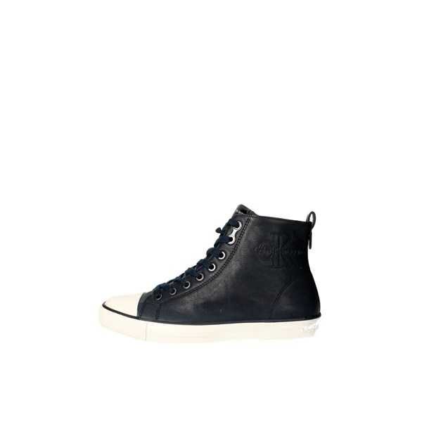 Calvin Klein Jeans Shoes Sneakers Blue S0373