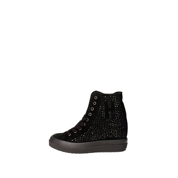 Happiness Scarpe Donna Sneakers NERO 30000
