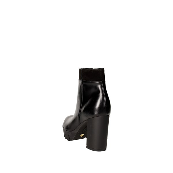 <Rosso Reale Milano Shoes boots Black 459