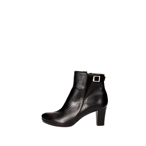 Rosso Reale Milano Shoes boots Black 1067