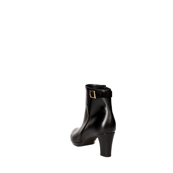 <Rosso Reale Milano Shoes boots Black 1067