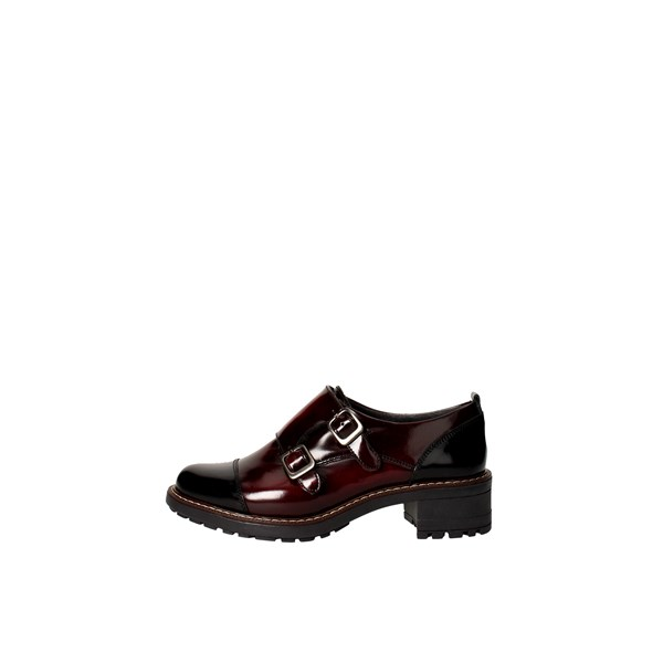 Baerchi Shoes Parisian Black/Burgundy 32303