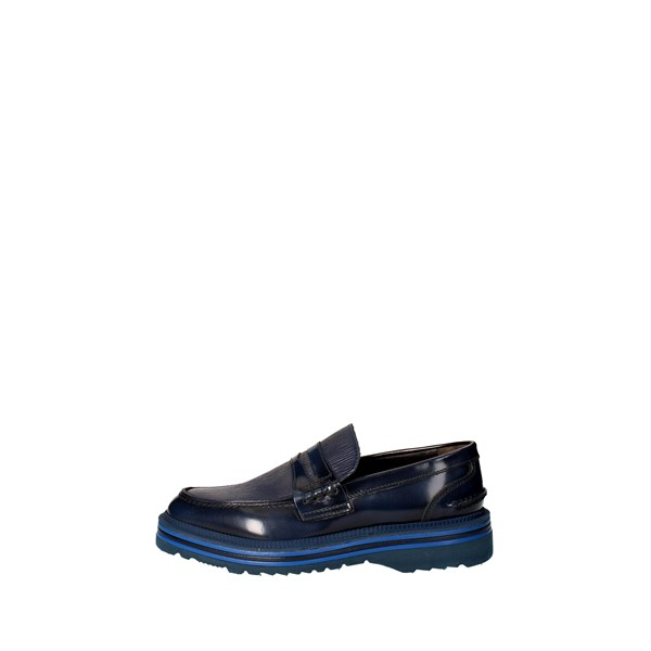 Marechiaro Shoes Moccasin Blue A 1422-8