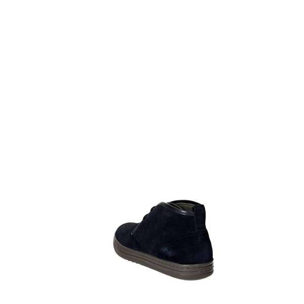 Geox Shoes Laced Blue U64W1C