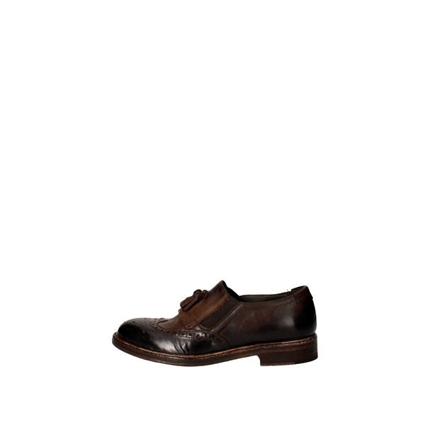 Arlati Scarpe Uomo Slip-on MARRONE 4367