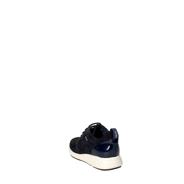 <Geox Shoes Sneakers Blue/Black D621CA