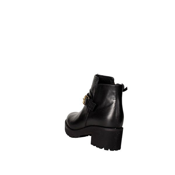 <Docksteps Shoes Ankle Boots With Wedge Heels Black DSE103680
