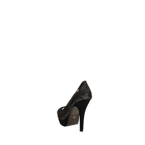 O6 Shoes Heels' Black DE0165