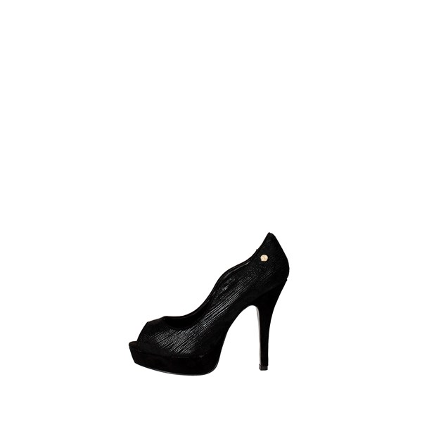 O6 Shoes Heels' Black DE0164