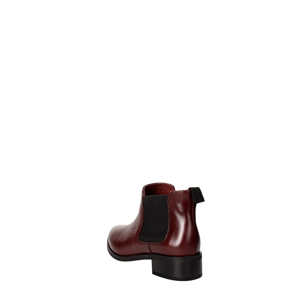 Frau Shoes Ankle Boots Burgundy 91M5