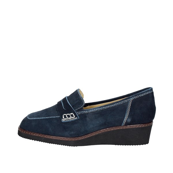 Sanagens Shoes Moccasin Blue 3258