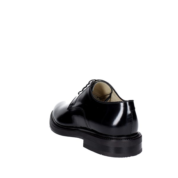 Hudson Shoes Brogue Black 901