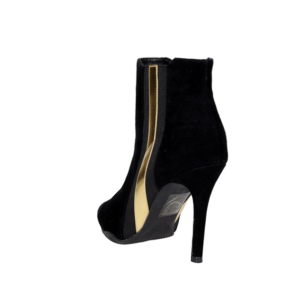 <Fornarina Shoes Ankle Boots Black PIFEW9592WVAG200