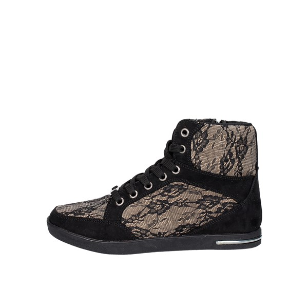 Laura Biagiotti Shoes Sneakers Black/Brown Taupe 1557