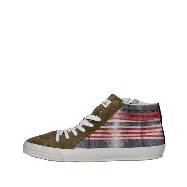 Serafini Shoes Sneakers Brown Taupe CAMP.81