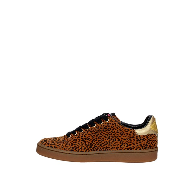 Serafini Shoes Sneakers Brown leather CAMP.14