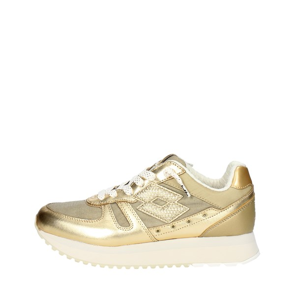 Lotto Leggenda Shoes Sneakers Gold S8908
