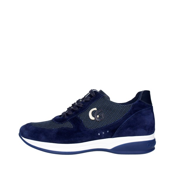 Cristiano Gualtieri Shoes Low Sneakers Blue 539-2