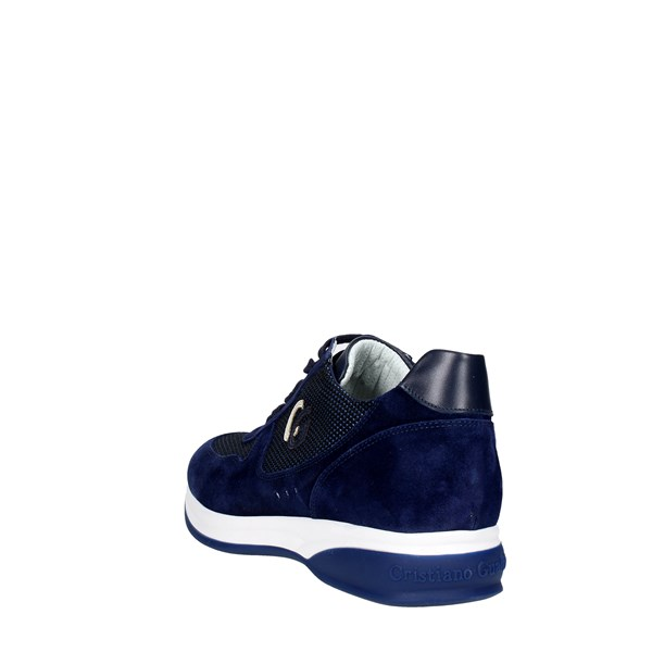 <Cristiano Gualtieri Shoes Low Sneakers Blue 539-2