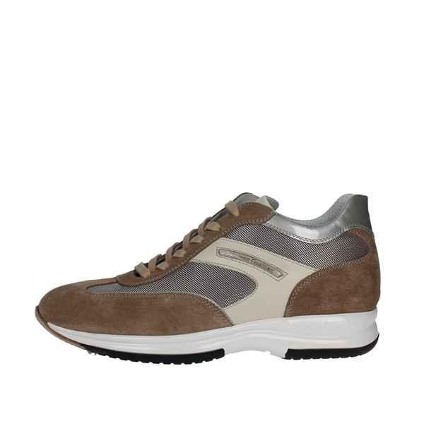 Cristiano Gualtieri Shoes Low Sneakers Brown Taupe 458/1P-5