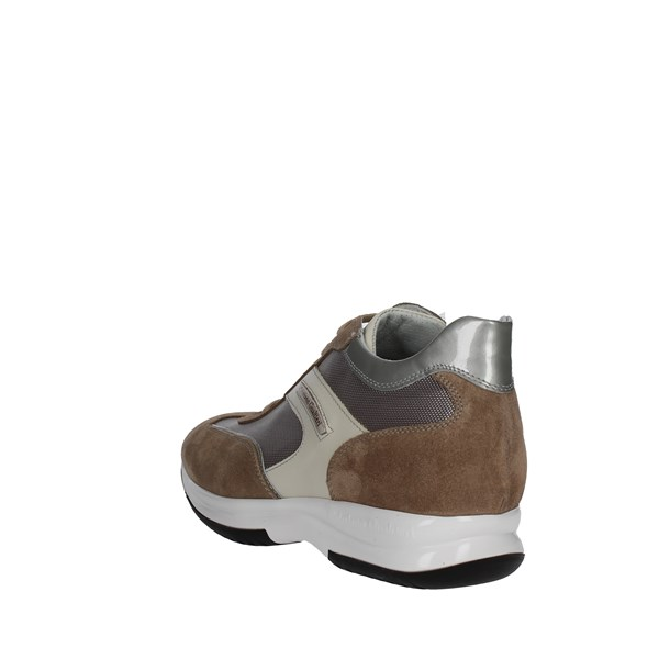 <Cristiano Gualtieri Shoes Low Sneakers Brown Taupe 458/1P-5