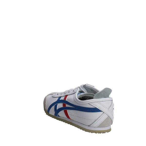 <Onitsuka Tiger Scarpe Donna Sneakers Bassa BIANCO DL408..0146
