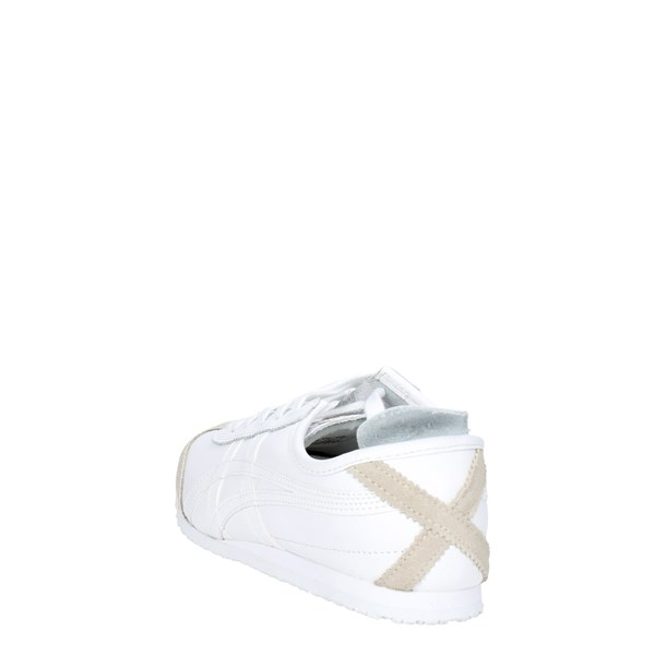 <Onitsuka Tiger Scarpe Donna Sneakers Bassa BIANCO DL408..0101