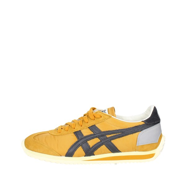 Onitsuka Tiger Scarpe Donna Sneakers Bassa GIALLO D110N..3195