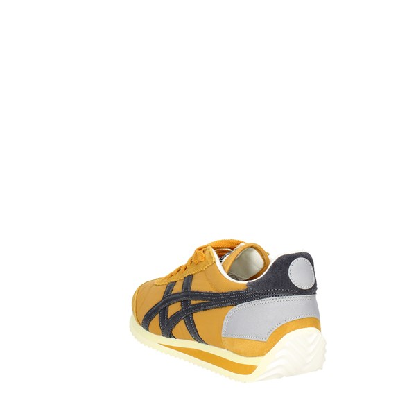 <Onitsuka Tiger Scarpe Donna Sneakers Bassa GIALLO D110N..3195