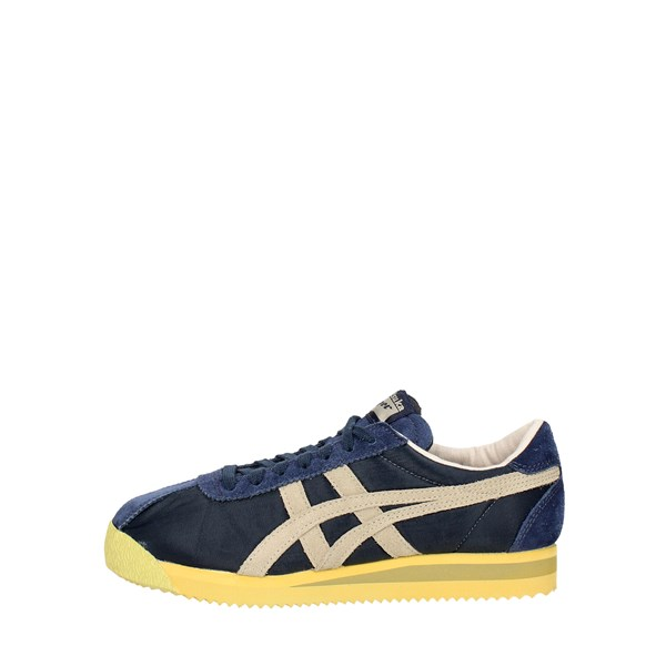 Onitsuka Tiger Shoes Sneakers Blue/Yellow D7C2N..5805