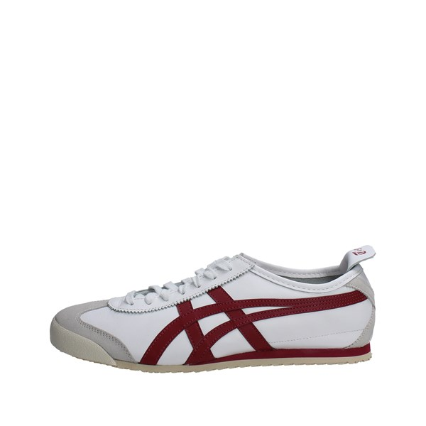 Onitsuka Tiger Shoes Sneakers White/Red D4J2L..0125