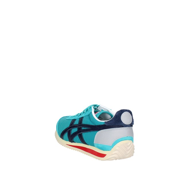 <Onitsuka Tiger Shoes Low Sneakers Aquamarine D110N..8358