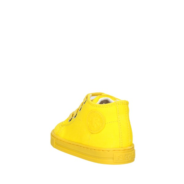 <Falcotto Shoes High Sneakers Yellow 0012010916.02.9115