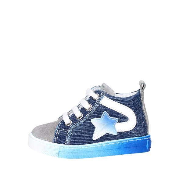 Falcotto Shoes High Sneakers Blue/Grey 0012010936.07.9161