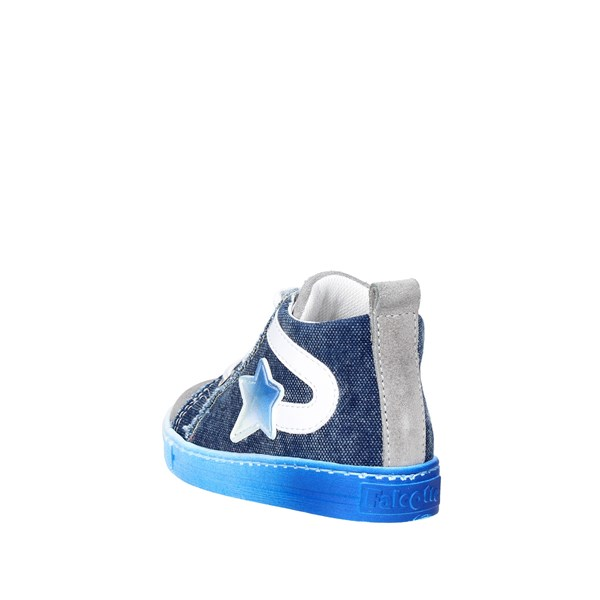 <Falcotto Shoes High Sneakers Blue/Grey 0012010936.07.9161