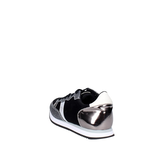 U.s. Polo Assn Shoes Sneakers Black/Silver NOBIW4132S7/MY3