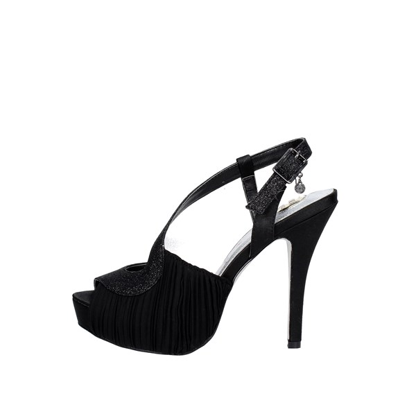 O6 Shoes Sandals Black SA0424