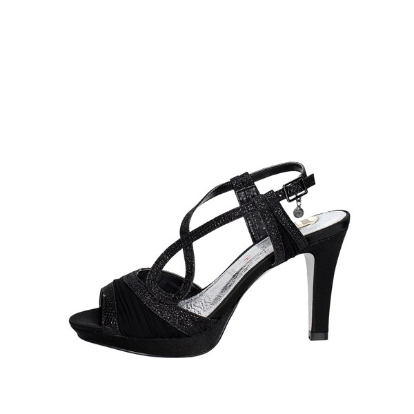 O6 Shoes Sandals Black SA0444