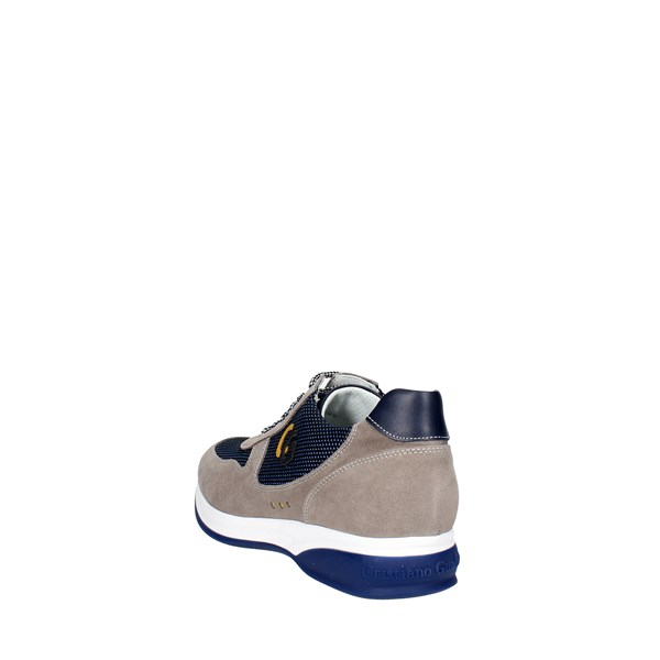 <Cristiano Gualtieri Shoes Low Sneakers Blue 539-6